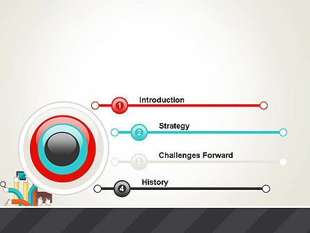 Creative Design Process PowerPoint Template, Slide 3, 12855, Careers/Industry — PoweredTemplate.com