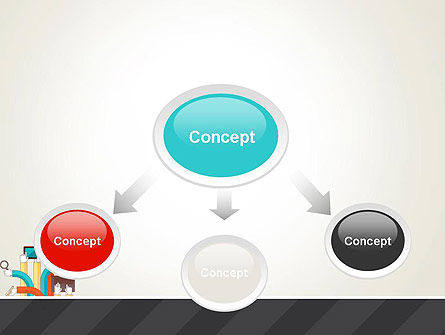 Creative Design Process PowerPoint Template, Slide 4, 12855, Careers/Industry — PoweredTemplate.com