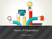 Careers/Industry: Creative Design Process PowerPoint Template #12855