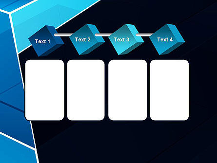 Abstract Transparent Geometric Form PowerPoint Template Slide 18