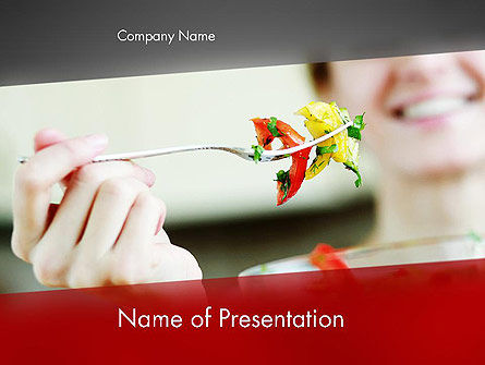 Becoming Vegetarian PowerPoint Template