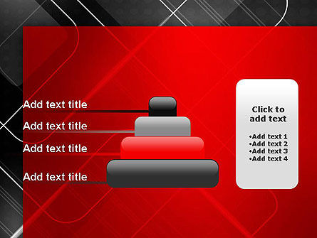 Abstract Pattern on Metal PowerPoint Template Slide 8