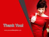 Woman Got Idea PowerPoint Template#20