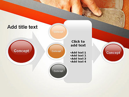 Putty Joints PowerPoint Template Slide 17