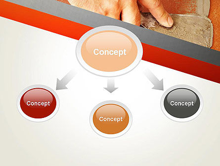 Putty Joints PowerPoint Template, Slide 4, 12867, Utilities/Industrial — PoweredTemplate.com