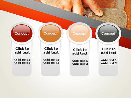 Putty Joints PowerPoint Template Slide 5