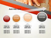 Putty Joints PowerPoint Template#13
