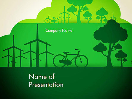Nature & Environment: Going Green PowerPoint Template #12869