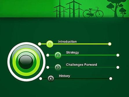 Going Green PowerPoint Template, Slide 3, 12869, Nature & Environment — PoweredTemplate.com