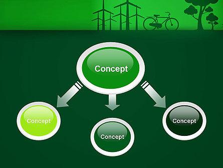 Going Green PowerPoint Template, Slide 4, 12869, Nature & Environment — PoweredTemplate.com