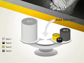 Supporting Hand PowerPoint Template#10