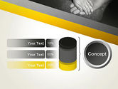 Supporting Hand PowerPoint Template#11