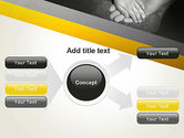 Supporting Hand PowerPoint Template#14