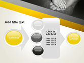 Supporting Hand PowerPoint Template#17
