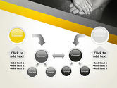 Supporting Hand PowerPoint Template#19