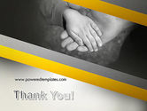 Supporting Hand PowerPoint Template#20