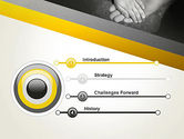 Supporting Hand PowerPoint Template#3