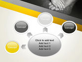 Supporting Hand PowerPoint Template#7
