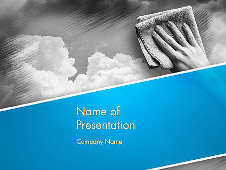 Nature & Environment: Air Cleaning Concept PowerPoint Template #12871