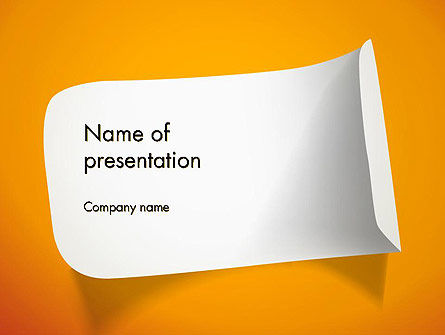 Business: Sticker PowerPoint Template #12872