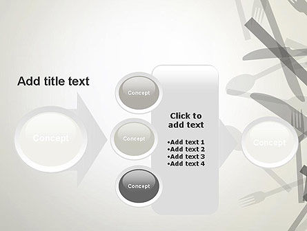 Forks and Knifes PowerPoint Template Slide 17