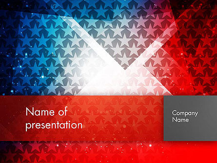 America: USA Theme PowerPoint Template #12877