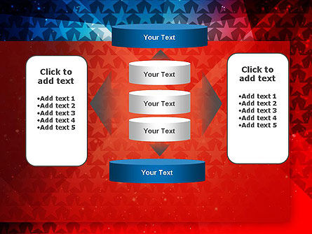 USA Theme PowerPoint Template Slide 13