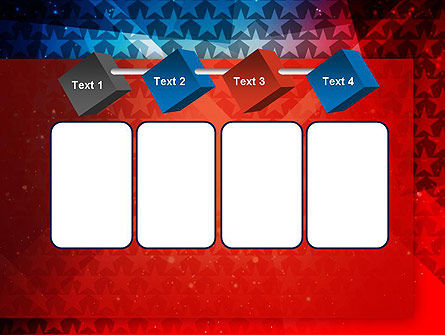 USA Theme PowerPoint Template Slide 18