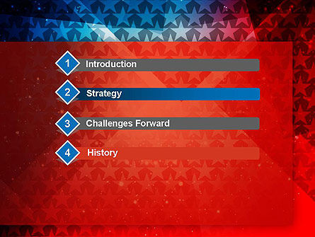 USA Theme PowerPoint Template Slide 3