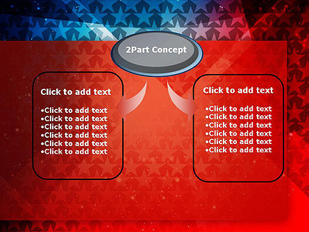 USA Theme PowerPoint Template, Slide 4, 12877, America — PoweredTemplate.com