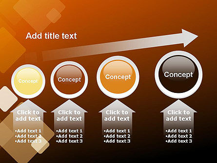 Abstract Transparent Squares PowerPoint Template Slide 13