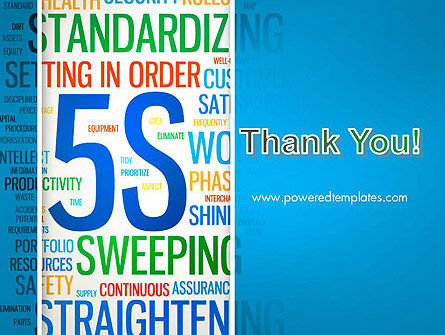 5S Word Cloud PowerPoint Template Slide 20