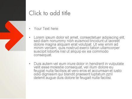 Right Arrow PowerPoint Template, Slide 3, 12885, Business — PoweredTemplate.com