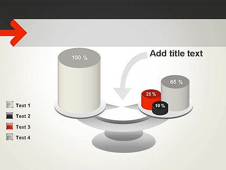 Right Arrow PowerPoint Template Slide 10
