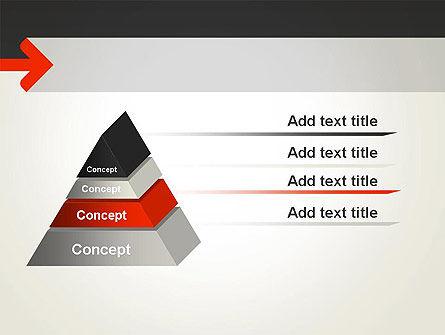 Right Arrow PowerPoint Template Slide 12