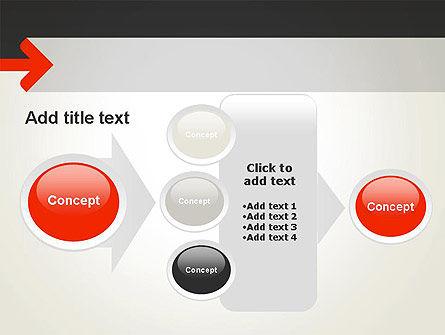 Right Arrow PowerPoint Template Slide 17