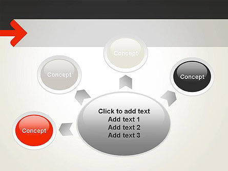 Right Arrow PowerPoint Template Slide 7