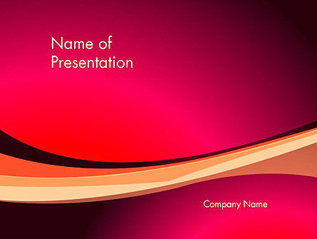 Abstract/Textures: Crimson Theme PowerPoint Template #12887