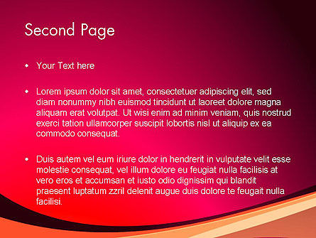 Crimson Theme PowerPoint Template Slide 2