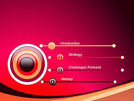 Crimson Theme PowerPoint Template Slide 3