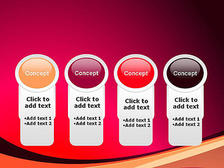 Crimson Theme PowerPoint Template Slide 5