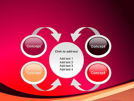 Crimson Theme PowerPoint Template Slide 6