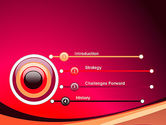 Crimson Theme PowerPoint Template#3