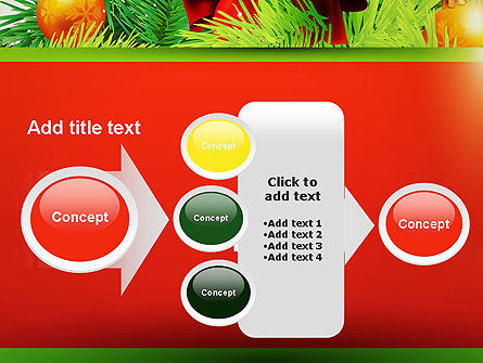 Christmas Fir Branches PowerPoint Template Slide 17
