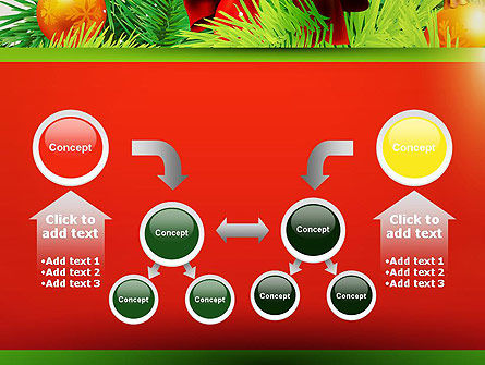 Christmas Fir Branches PowerPoint Template Slide 19
