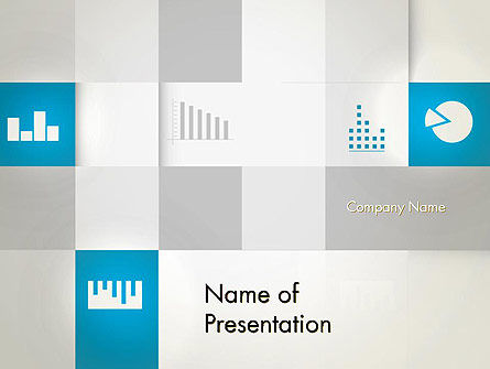 Modern Cube Theme PowerPoint Template, 12889, Business — PoweredTemplate.com
