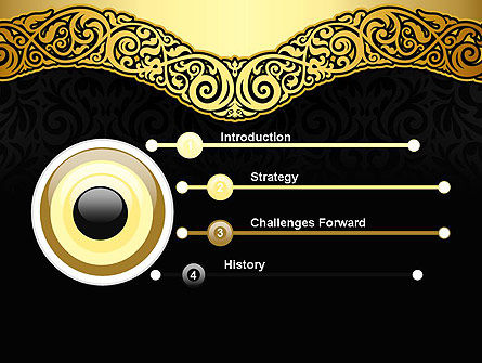 Ornamental Theme PowerPoint Template Slide 3