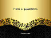 Art & Entertainment: Ornamental Theme PowerPoint Template #12890