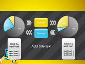 Hands with Touchpad Drawing PowerPoint Template#16