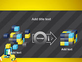 Hands with Touchpad Drawing PowerPoint Template#17
